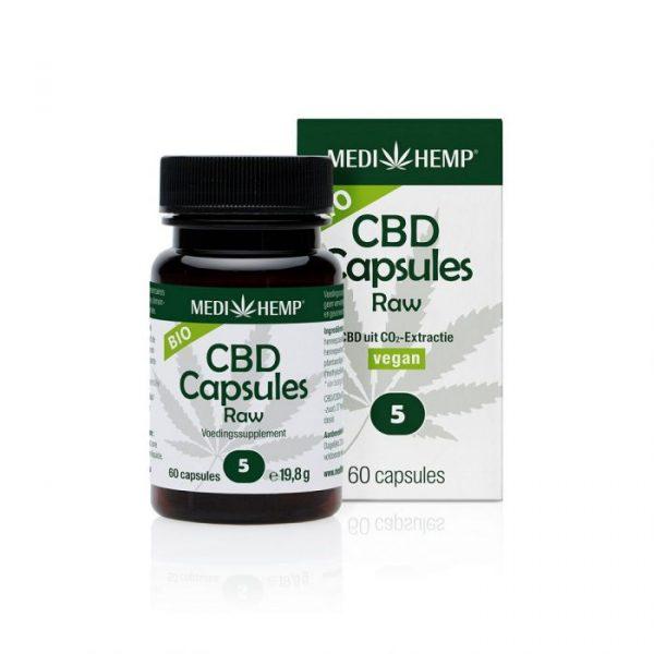 CBD capsules 60 stk pot medihemp cbdenzo