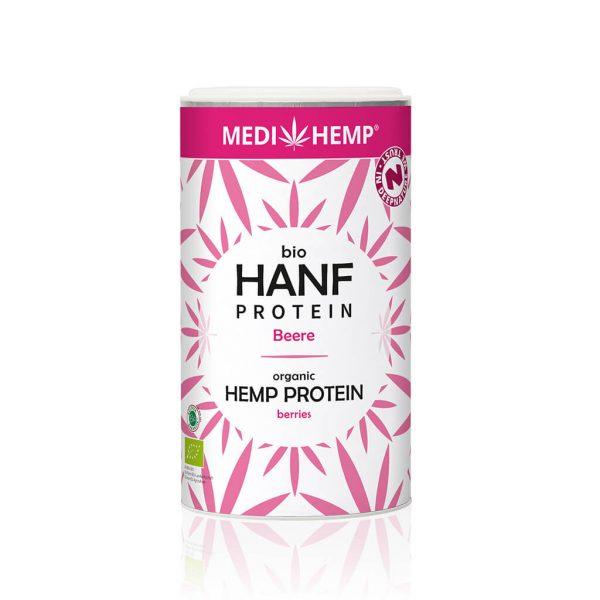 Cbdenzo,Hennep,Proteine, Bio,Medihemp,180gr,framboos,bosbes