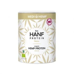 Cbdenzo,Hennep,Proteine, Bio,Medihemp,330gr,hersluitbarepot,naturel