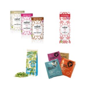 Diversen producten van CBDenzo