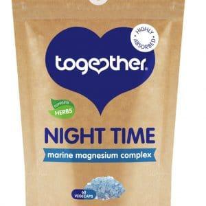 60 capsules bruine zak CBDenzo Together Health-Night Time Complex