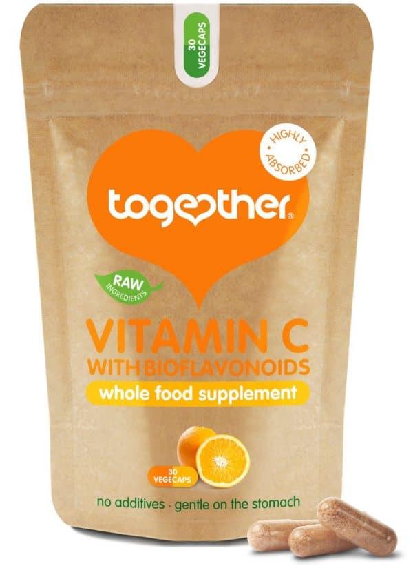 30 capsules bruine zak CBDenzo Together Health Vitamine C