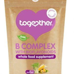 bruine kartonnen zak CBDenzo Together healt-B complex