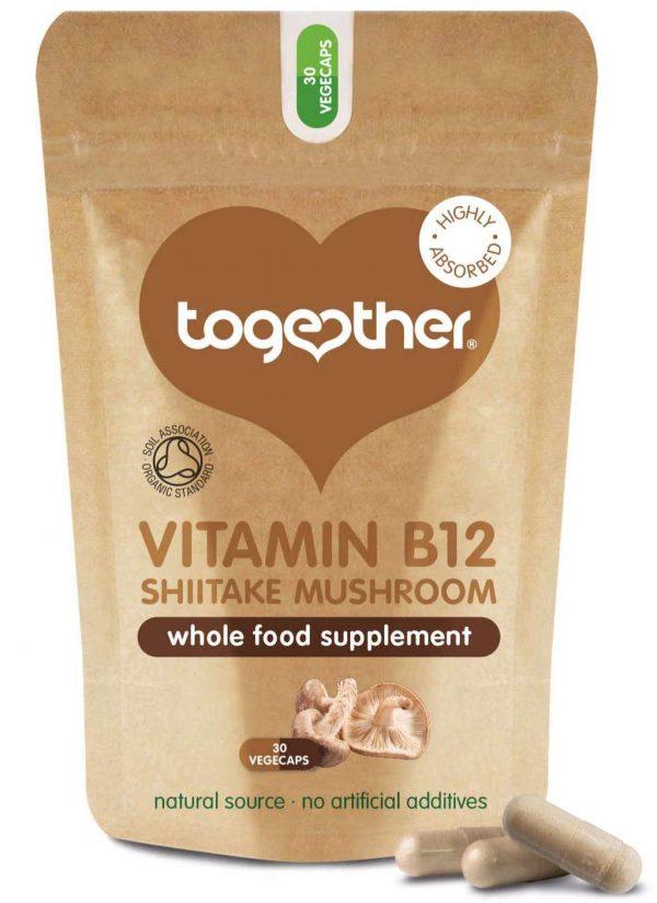 zak met 30 capsules CBDenzo Together health Organic Mushroom B12