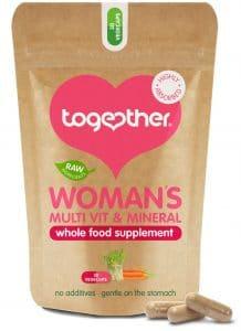 30 capsules bruine zak CBDenzo Woman's Multi-Vitamine Together Health