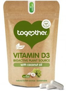 30 capsules bruine zak Cbdenzo Together Health Vitamine D3