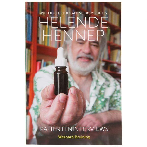 boek CBDenzo helende-hennep-boek-wernard-bruining