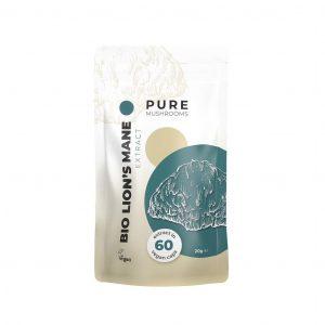 Pure Mushrooms Lion's Mane Bio capsules-CBDenzo
